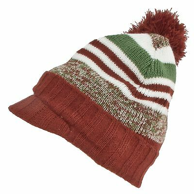 76b9898080f Seirus 3174 Kids Big Boys Girls Youth Jr Spectrum Visor Hat Ski Snow Beanie