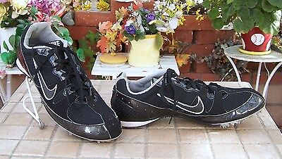 online store cb970 75962 Nike Track Field Running Cleats Shoes 383823 Zoom Rival Men s Black Size 8.5