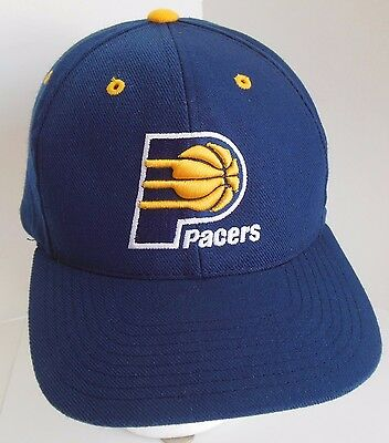 c53d2e85705 ... new arrivals vintage nba indiana pacers snapback hat cap navy yellow  basketball embroidered 094a3 273e7