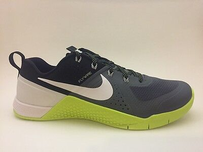 NEW 2015 NIKE Metcon 1 Dark Grey   White - Volt - Black (704688-007) -   129.95  69c54b500