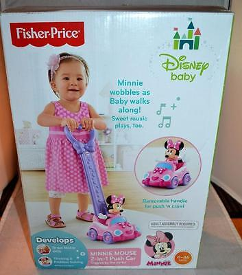Fisher-Price Disney Baby Minnie Mouse 2-in-1 Push Along