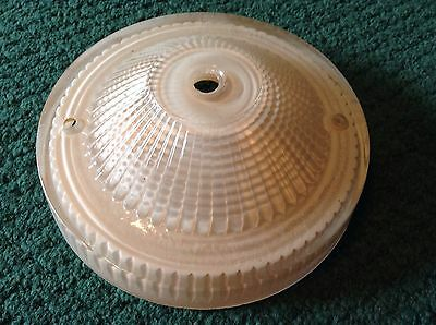 Antique VTG Small Glass White Replacement Shade Globe Ceiling Fixture 5 3/4""