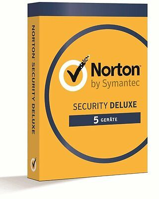 Norton Security Deluxe 3.0 2018/2019 5 Geräte - 1Jahr DE (PC/Mac/Tablet/Handy)