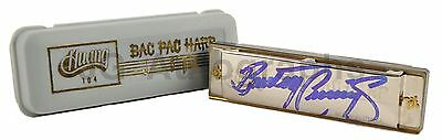 The Guess Who - Burton Cummings - Authentic Autographed Harmonica