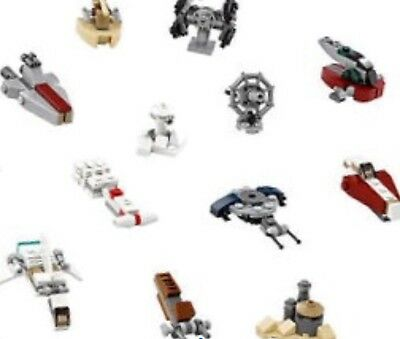 LEGO Star Wars Mini Build Ships x12 from Advent Calendar ...