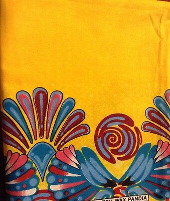 Super Beautiful African Cloth - ONE DAY SALE! Orig Price :14.50