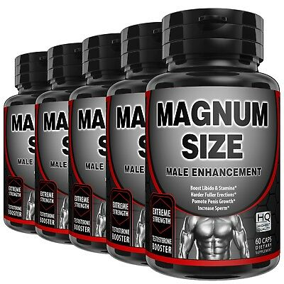 Male Penis Enlarger Growth Pills Gain Size Thicker Bigger Girth Grow Longer