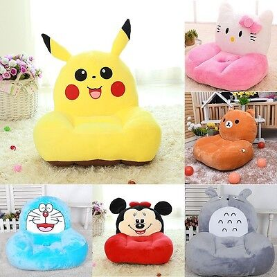Cute Pokemone Pikachu Baby Kid's Sofa Stuffed Animal Cushion Seat Soft Toy Gift