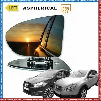 Left Side Clip On Heated Mirror Glass for Nissan Qashqai J11 2013-2019 823LSHP