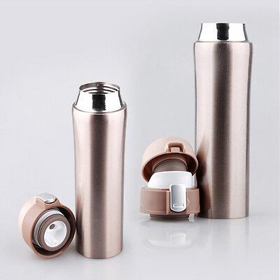 Styling 12V Heated Travel Car Stainless Steel Thermos Coffee Tea Cup Mug Bottle