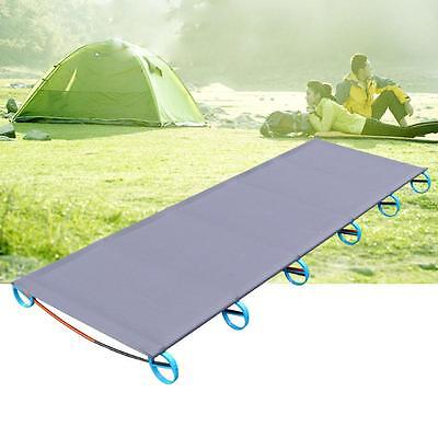 Outdoor Ultralight Folding Portable Aluminium Alloy Cots Camping Picnic Bed