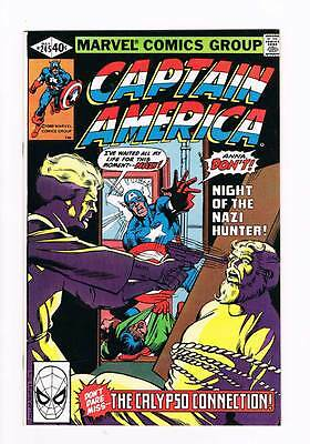 Captain America # 245 The Calypso Connection ! grade 9.0 scarce book !!