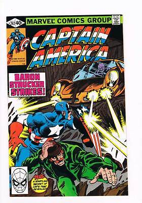 Captain America # 247 By The Dawn's Early Light ! grade 9.4 scarce book !!