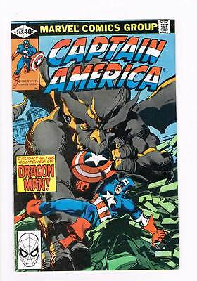 Captain America # 248 Dragon Man  ! grade 9.0 scarce book !!