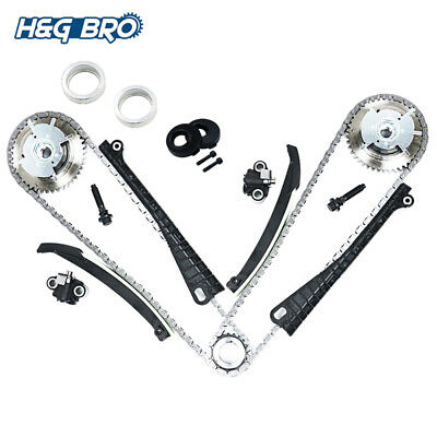 Timing Chain Kit Cam Phaser 04-08 Ford F-150 F-250 Lincoln 5.4 TRITON 3-Valve