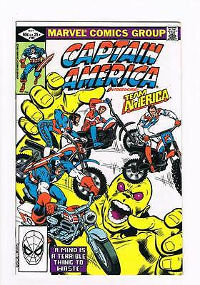 Captain America # 269 A Mind is a Terrible Thing to Waste ! grade 9.0 scarce !!