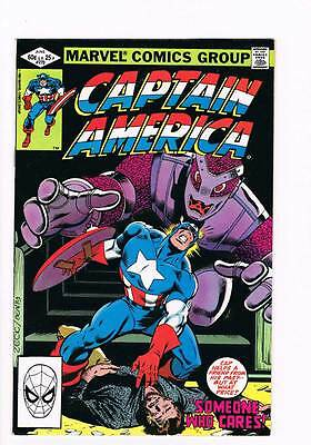 Captain America # 270 Someone Who Cares ! grade 9.0 scarce !!