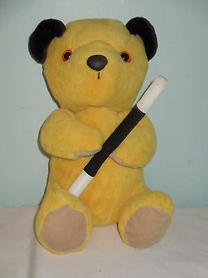 Sooty Soft Plush bean Toy from Sooty and Sweep. 10 inches high. 2009