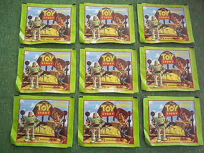 Panini Toy Story Collectable Stickers 9 Unopoened Sealed Packets