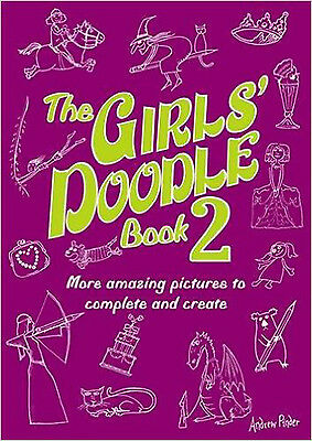 The Girls' Doodle Book 2 (Buster Books), New, Pinder, Andrew Book