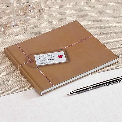 Just My Type Mrs & Mrs Wedding Guest Book Same Sex Lesbian Bride Marriage Party