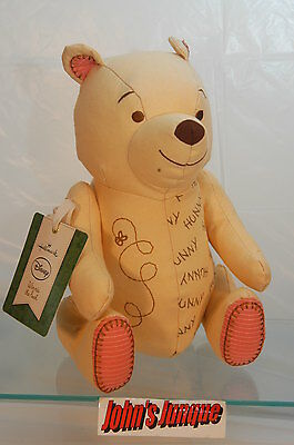 Winnie The Pooh Hallmark Friendship Plush New With Tag Free Shipping In Us~Cute~