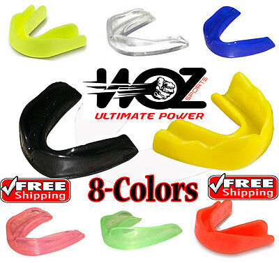 Mouthguard Boil Bite Teeth Grinding Gum shield Boxing Mouth Guard MMA Rugby