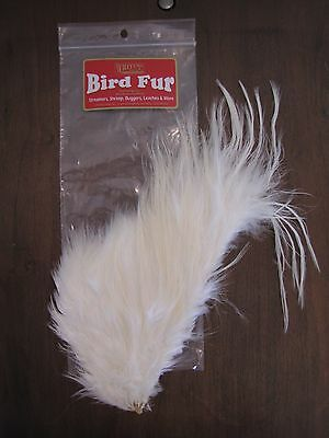 Fly Tying-Whiting Farms Spey Bird Fur White