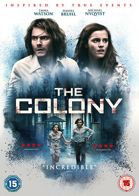 The Colony DVD (2016) Emma Watson, Gallenberger (DIR) cert 15 Quality guaranteed