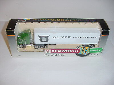 1/64 Oliver Corporation Tractor & Trailer Set W/Box!