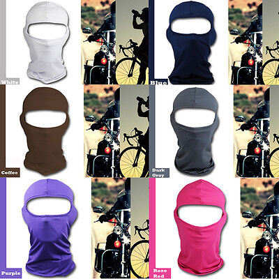 Motorcycle Cycling Ski Neck protecting Outdoor lycra Balaclava Full Face Mask AU