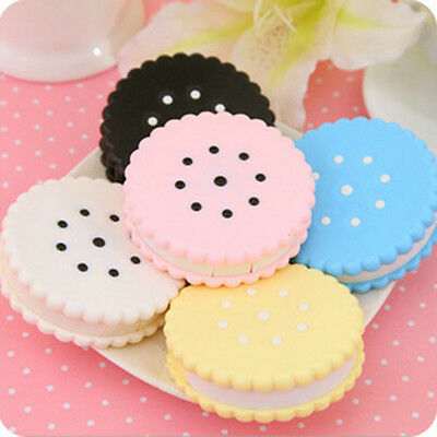 Nice Travel Portable Cute Cartoon Cookies Contact Lens Case Box Container Holder