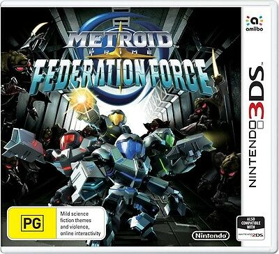 Metroid Prime: Federation Force  - 3DS game - BRAND NEW