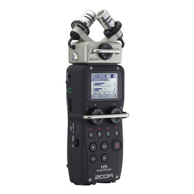 Zoom H5 Portable Handheld Stereo Audio Recorder