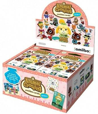 Amiibo Animal Crossing Cards Series 4  - Wii UBRAND NEW