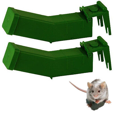 2x REUSABLE HUMANE MOUSE TRAPS MICE PEST RODENT CATCHER CONTROL NON LETHAL