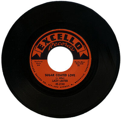 "LAZY LESTER  ""SUGAR COATED LOVE""  50's R&B CLASSIC MOVER    LISTEN!"