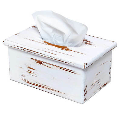 Tissue Box Cover - Rectangular - Wooden - Cover rectangular facial tissue boxes