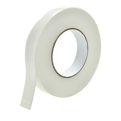 1x 5m White Double Sided Strong Sticky Self Adhesive Foam Tape Mounting Fixing