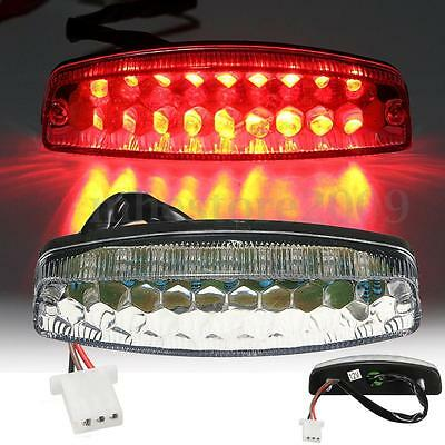 LED Rear Tail Brake Light For 50 70 110 125cc ATV Quad TaoTao Nst Sunl Chinese