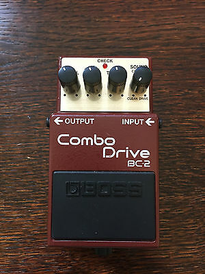 BOSS BC-2 'Combo Drive' Guitar Effects Pedal