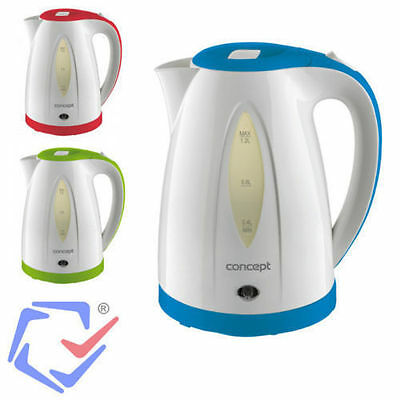 Concept Electric Kettle 110W 1.2L Wireless Water Heater 3 Colors Portable JugTOP