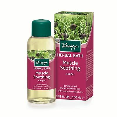 Kneipp Juniper Muscle Soothing Herbal Bath Oil 100ml