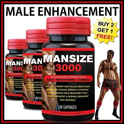 Male Penis Enlarger Growth Pills Get Bigger Harder Grow Longer Thicker Gain Size