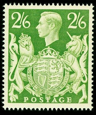 Sg476b, 2s 6d yellow-green, M MINT. Cat £15.