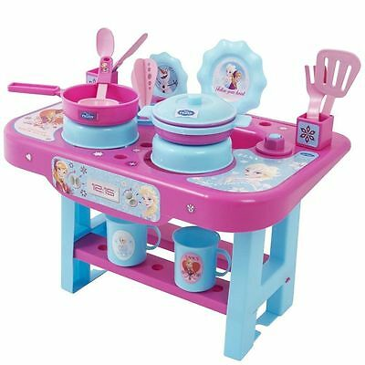 Set Cucina Frozen Piccola Con 18 Accessori