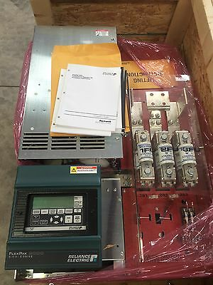Reliance FlexPak 3000 DC Drive 400hp M/N: 400FR4041 Output 667 Amps NEW
