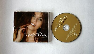 Shania Twain Ka-Ching!  EU Adv CDSingle 2003 Pop Rock
