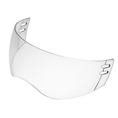 Ice Hockey Visor Face Half Shield Aviator Clear Senior Anti Fog Scratch Hardware