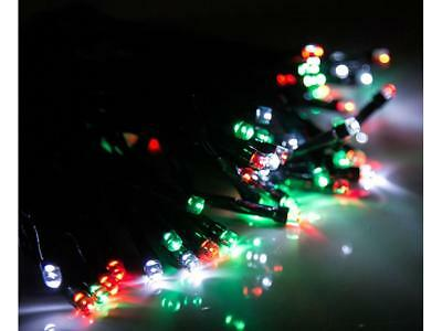 NEW Solar Fairy String Lights Multi Colour 50LED 10M length Indoor/Outdoor
